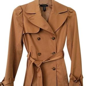Laundry by Shelli Segal Double-breasted Trench